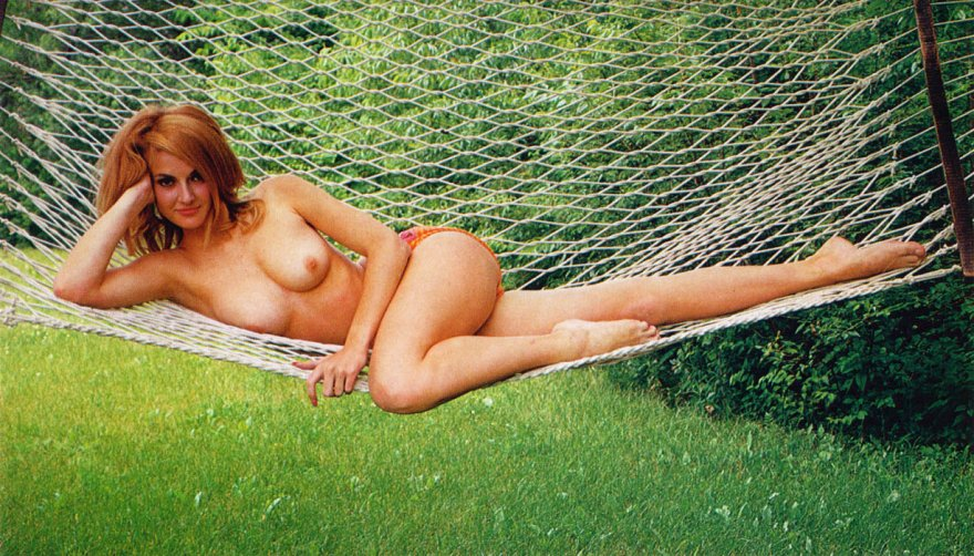 Heather Ryan was Playboy's Miss July 1967. Porn Photo