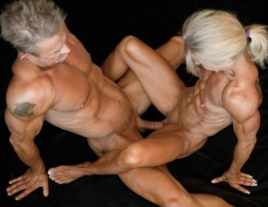 amateur photo Hardcore Bodybuilders
