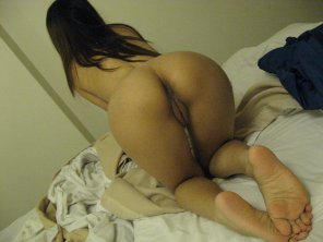 amateur photo pull her hair and insert yourself