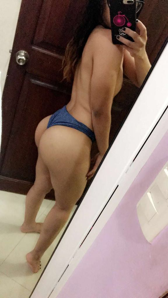 Hot naked women shaved vagina closeup