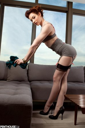 amateur photo Business suit Stoya