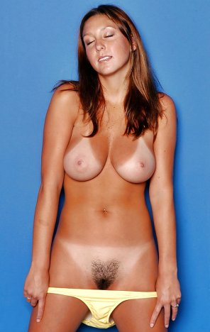 amateur photo Natural brunette
