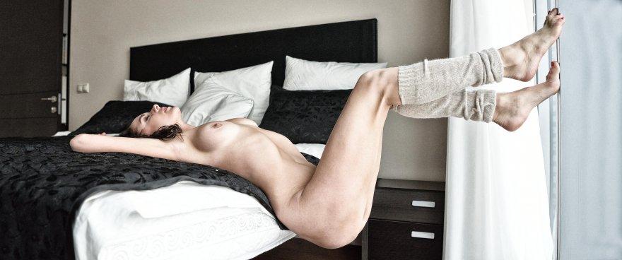 amateur photo Leg warmers