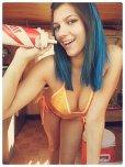 amateur photo Blue Barista Takes a Taste [AIC]