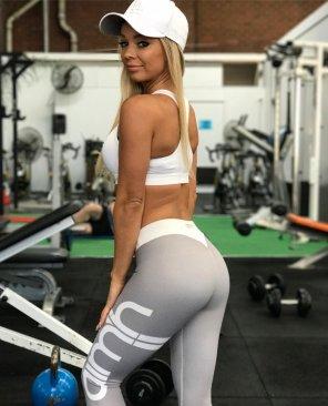 amateur photo Gym Barbie