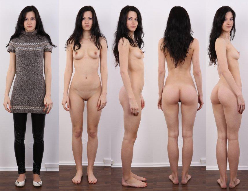 Dark Haired Beauty Porn Photo