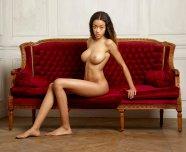 Tyra posing naked
