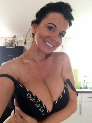 amateur photo Smiling milf