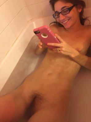 amateur photo Bath time!