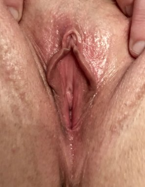 amateur photo Leaking, After 67 Cums and a Creampie