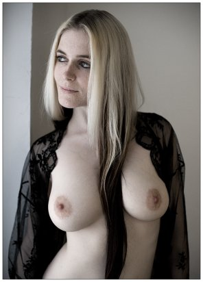 amateur photo Freckled blonde