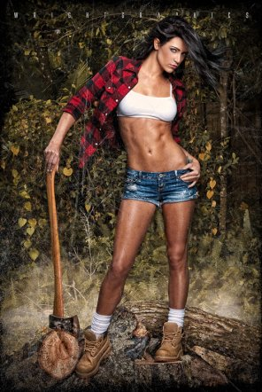 amateur photo Lovely lumberjack