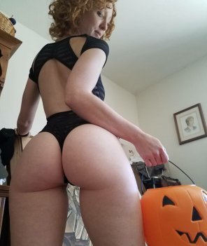 amateur photo Trick or Treat