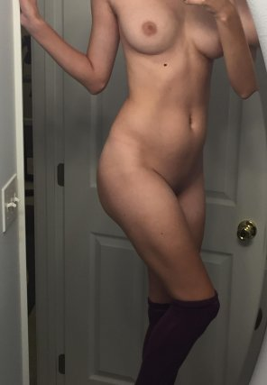 amateur photo PictureWife felt like stockings
