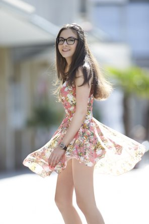 amateur photo Floral Dress
