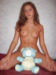 amateur photo Blue bear