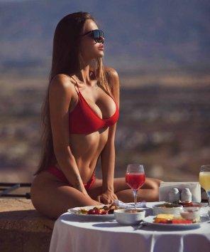 amateur photo Breakfast with Viki Odintcova