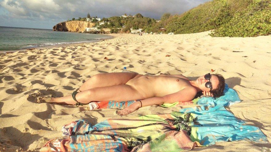 Beachy Porn Photo