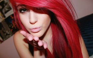 amateur photo Gorgeous red head