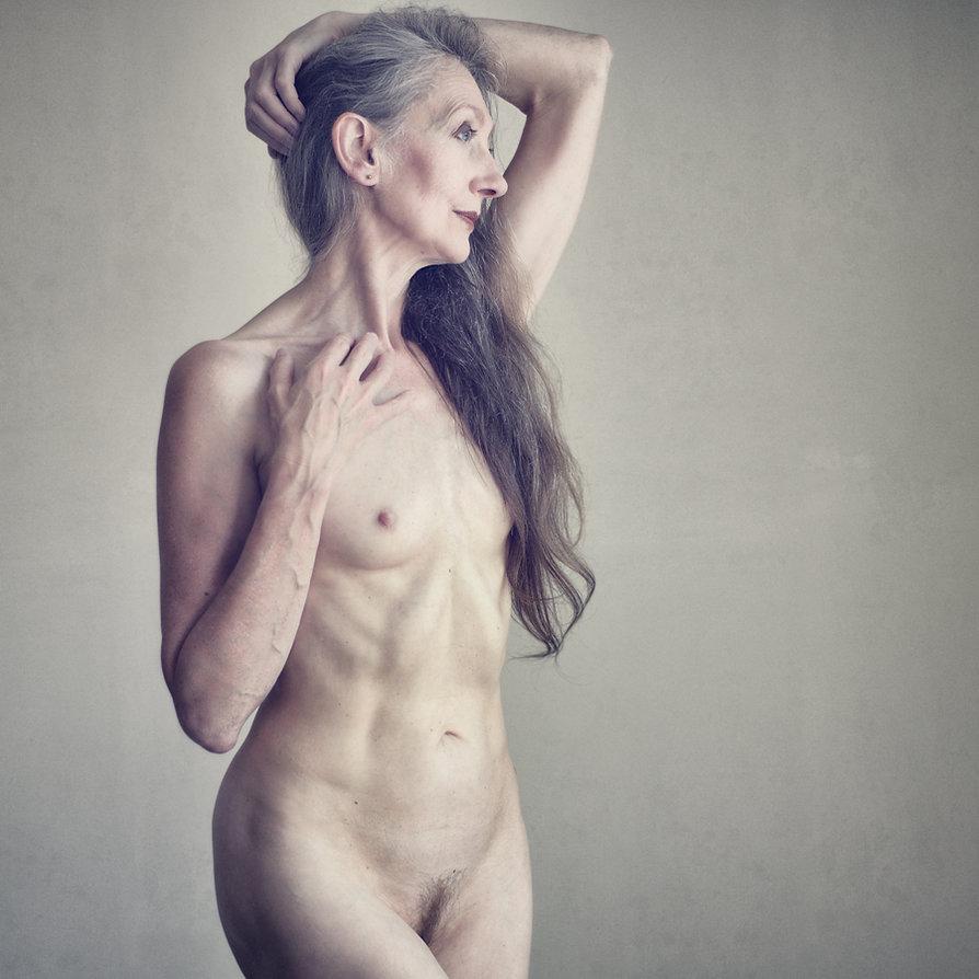 Mature nude women facials