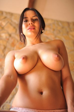 amateur photo Lacey Banghard in all her might