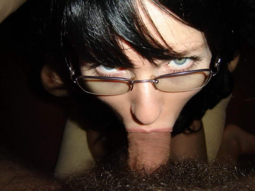 A girl with glasses Porn Photo