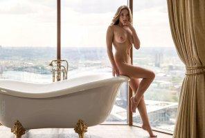 amateur photo Fancy bath