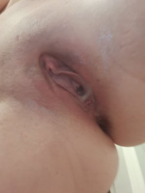 amateur photo Husband gets me dripping everytime