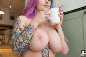 amateur photo Morning Tea