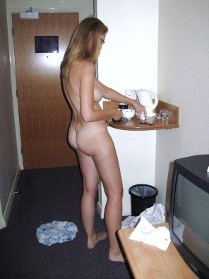amateur photo Hotel room