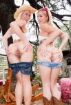 amateur photo Anikka Albrite and Zoey Monroe