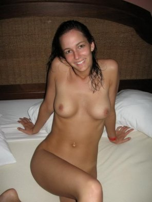 amateur photo She's ready for him
