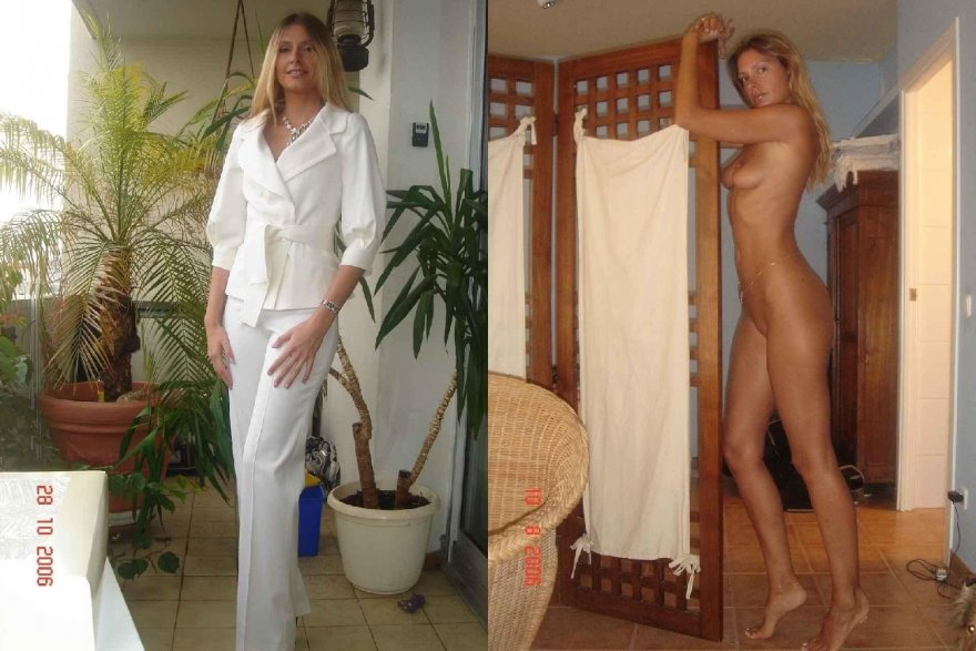 Long Cool Woman In White Porn Photo