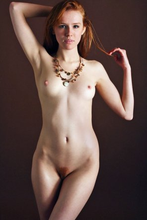 amateur photo Beautiful Tiny Redhead