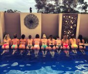 Now that's what I call a pool party!