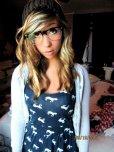 amateur photo Cutie with black frames
