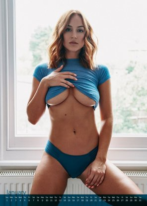 amateur photo Rosie Jones 2017 calendar preview