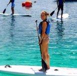 amateur photo Paddleboarding