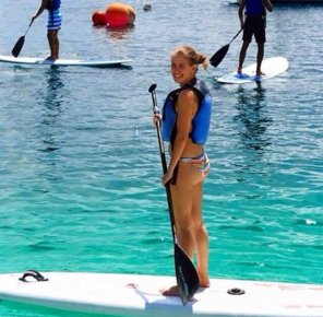 amateur photo Paddleboarding