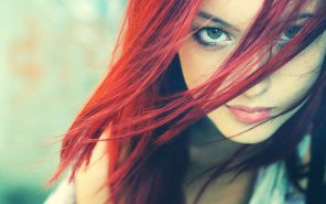 amateur photo Intense Redhead