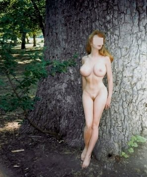 amateur photo Shy redhead...