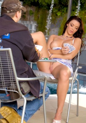 amateur photo Playing cards with Natalia Cruze seems interesting
