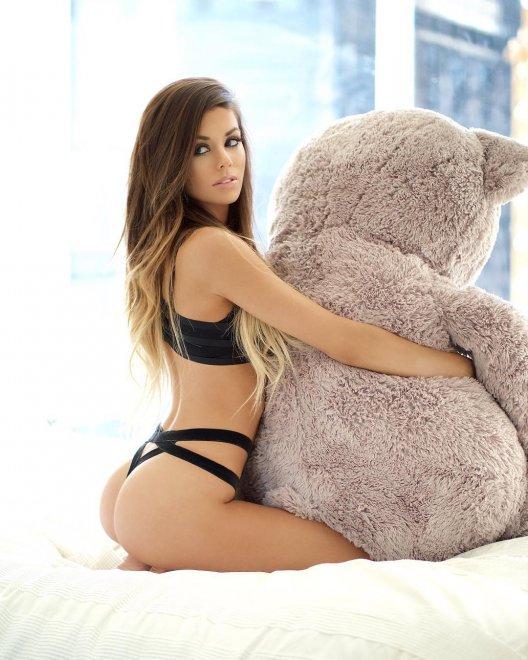 Ass + Bonus Teddy Bear Porn Photo