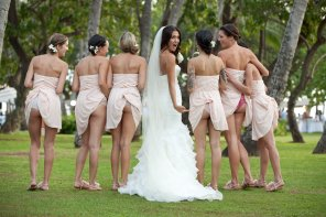 amateur photo Bridesmaids