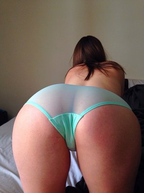 amateur photo booty blue panties