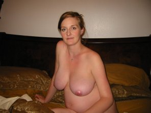 amateur photo Beautiful breasts