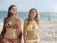 amateur photo Sarah Chalke and Christa Miller