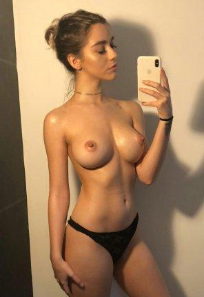 amateur photo Sexy bun