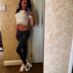 amateur photo Ariana Marie hanging out at home