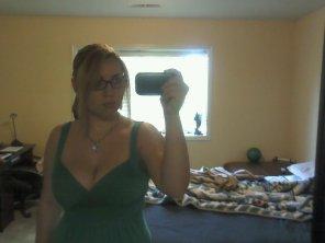 amateur photo Big tit Selfie